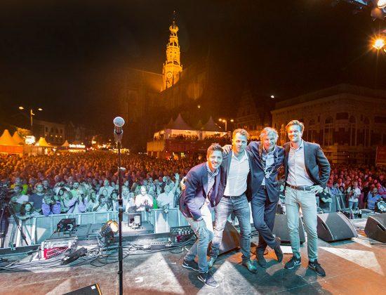 Haarlem Jazz, Martijn Bevelander, Menno Steenvoorden, Mike Rijkers, Haarlem